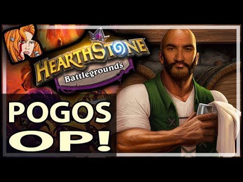 POGOS OP IN BATTLEGROUNDS - Hearthstone Battlegrounds