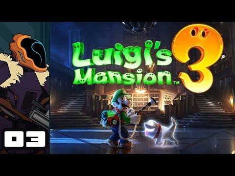 Let's Play Luigi's Mansion 3 - Switch Gameplay Part 3 - Backseat Gadding