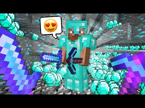 How to get UNLIMITED Diamonds!! (Minecraft)