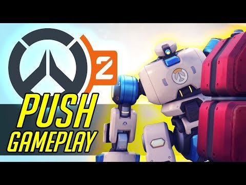 Overwatch 2 Push Mode Gameplay & NEW Map Impressions