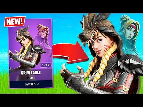 New Grim Fable Skin! (Fortnite Battle Royale)