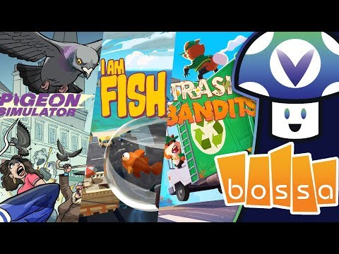 [Vinesauce] Vinny - Pigeon Simulator, I Am Fish, Trash Bandits (Bossa Presents)