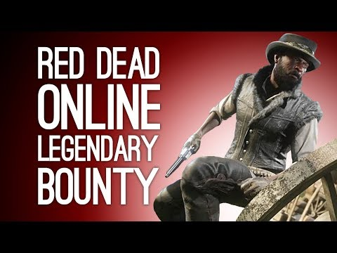 Red Dead Online Legendary Bounty Hunt: SERGIO VINCENZA! Let's Play Co-op Red Dead Online