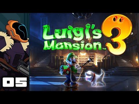 Let's Play Luigi's Mansion 3 - Switch Gameplay Part 5 - Baul Plart, Hotel Guard