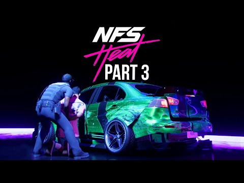 NEED FOR SPEED HEAT Gameplay Walkthrough Part 3 - HEAT LEVEL 5 POLICE CHASE (Full Game)
