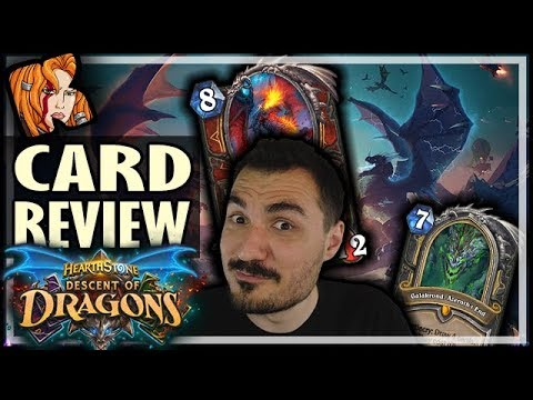 DESCENT OF DRAGONS EXPANSION! - CARD REVIEW - Hearthstone
