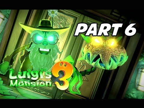 Luigi's Mansion 3 Gameplay Walkthrough Part 6 (Nintendo Switch)