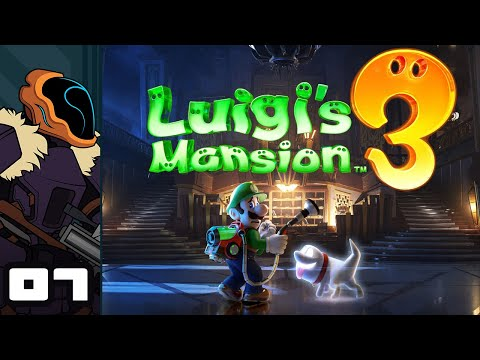 Let's Play Luigi's Mansion 3 - Switch Gameplay Part 7 - A Casual Disregard For Toads