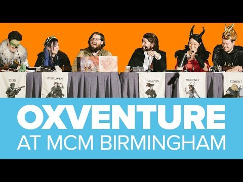 Oxventure LIVE: Dungeons and Dragons at MCM Birmingham 17 November 2019!