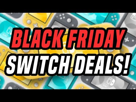 Nintendo Switch BLACK FRIDAY 2019 Deals EARLY! (Switch Games Sales, Joy Con, More!)