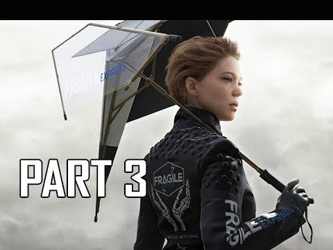 DEATH STRANDING Walkthrough Part 3 (PS4 Pro)