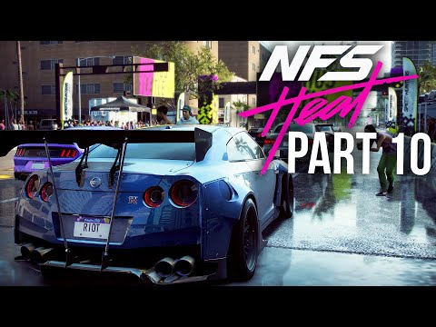 NEED FOR SPEED HEAT Gameplay Walkthrough Part 10 - GT-R Rocket Bunny (Full Game)