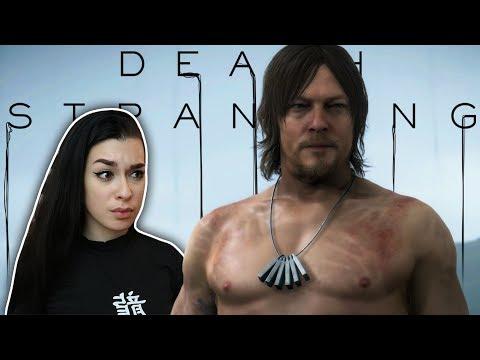 I'M NORMAN REEDUS! | Death Stranding Gameplay | Part 1