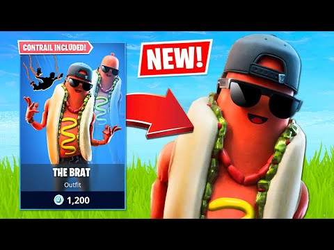 New Hotdog Skin & Squad Torurnament! (Fortnite Battle Royale)