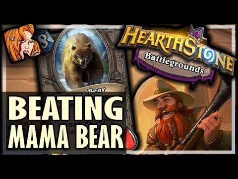 BEATING THE MAMA BEAR?! - Hearthstone Battlegrounds