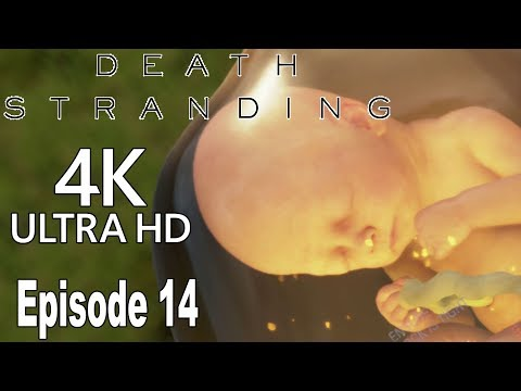 Death Stranding - Episode 14: Lou Gameplay Walkthrough Part 14 No Commentary [4K]
