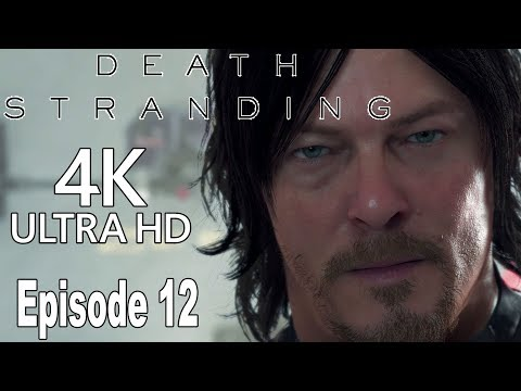 Death Stranding - Episode 12: Bridges Gameplay Walkthrough Part 12 No Commentary [4K]