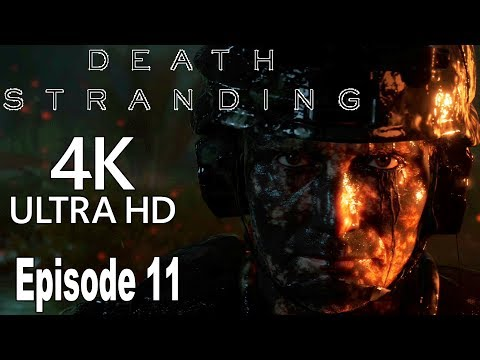 Death Stranding - Episode 11: Clifford Unger Gameplay Walkthrough Part 11 No Commentary [4K]