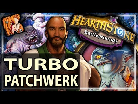 TURBO PATCHWERK WORKS! - Hearthstone Battlegrounds