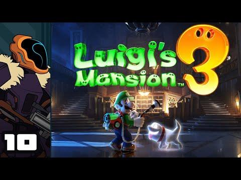 Let's Play Luigi's Mansion 3 - Switch Gameplay Part 10 - Wheed Whacker Supreme