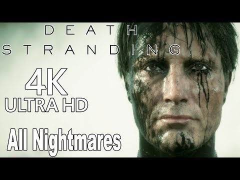 Death Stranding - All Nightmares of War Episodes (WW1, WW2, Vietnam) [4K]