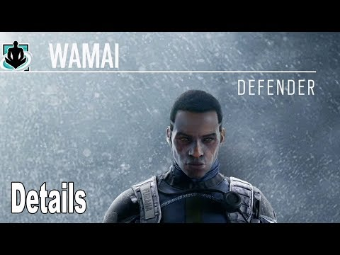 Rainbow Six Siege: Operation Shifting Tides - Kali and Wamai Details [HD 1080P]