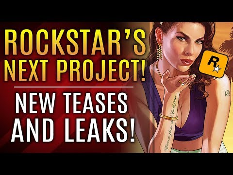 Rockstar's Next Big Project - New Teases and Leaks! GTA 6 and Red Dead Redemption 2 News!