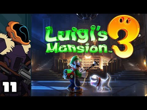 Let's Play Luigi's Mansion 3 - Switch Gameplay Part 11 - Ghostzilla