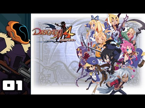 Let's Play Disgaea 4 Complete+ - Switch Gameplay Part 1 - The Sardine Powered Tyrant