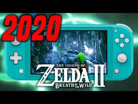 Zelda Breath of the Wild 2 Release Date in 2020 (NEW RUMOR/LEAK)