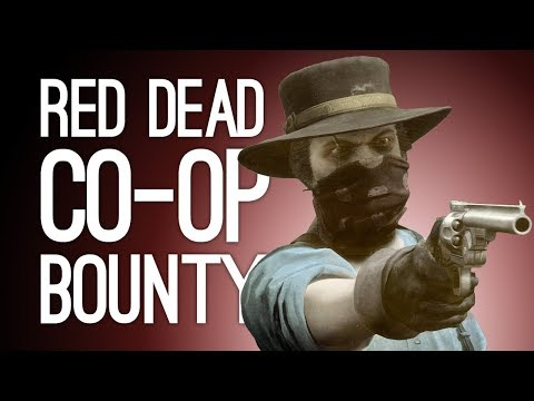 Red Dead Online Bounty Hunt: CELLO KILLER! GIRL GANG! Let's Play Co-op Red Dead Redemption 2