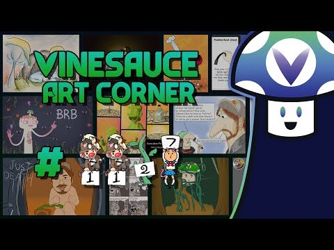 [Vinebooru] Vinny - Vinesauce Art Corner #1127