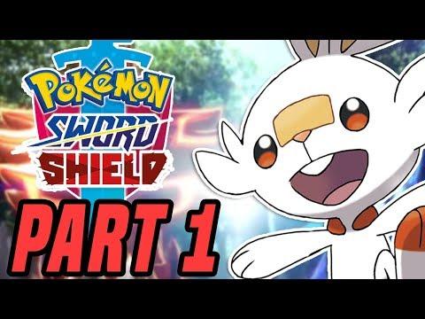 Pokemon Sword and Shield Gameplay Part 1 - FULL GAME Pokemon Sword Walkthrough (Switch)