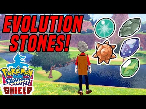 Pokemon Sword and Shield: How To Find EVOLUTION STONES In Wild Area! (Nintendo Switch)