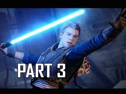 STAR WARS JEDI FALLEN ORDER Walkthrough Part 3 - MINES