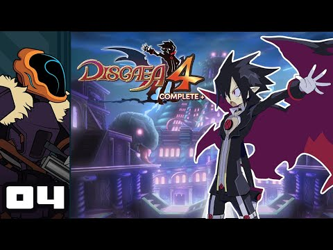 Let's Play Disgaea 4 Complete+ - Switch Gameplay Part 4 - Grindlandia