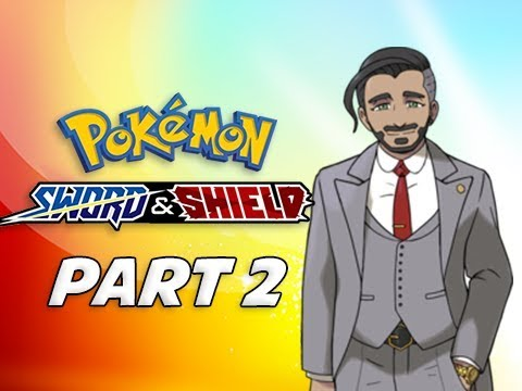 POKEMON SWORD & SHIELD Walkthrough Part 2 - Gym Challenge Ceremony (Nintendo Switch)