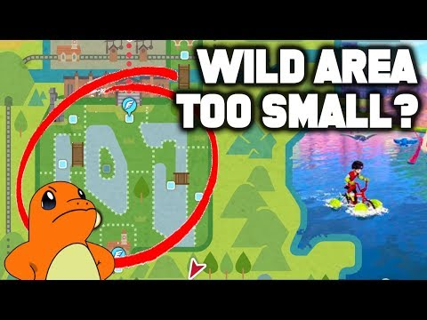 Is The Wild Area TOO SMALL In Pokemon Sword and Shield?!