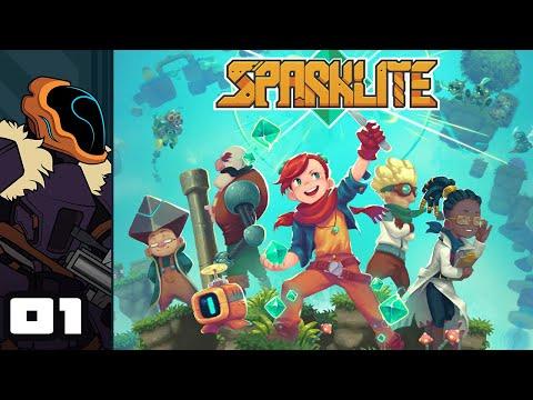 Let's Play Sparklite - PC Gameplay Part 1 - Old School Zelda + Indie Roguelite Flair
