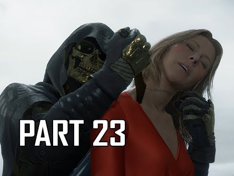 DEATH STRANDING Walkthrough Part 23 - Cut the Cord (PS4 Pro)