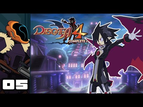 Let's Play Disgaea 4 Complete+ - Switch Gameplay Part 5 - Block Blocked