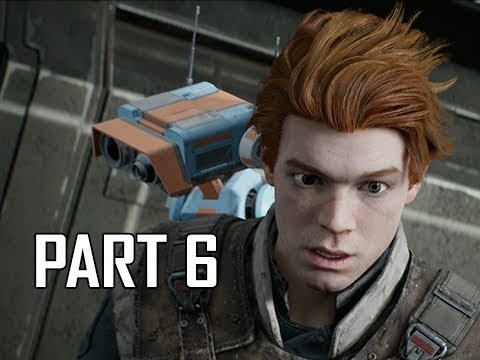 STAR WARS JEDI FALLEN ORDER Walkthrough Part 6 - Kashyyyk