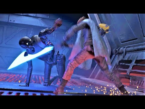 Star Wars Jedi Fallen Order - Epic Combat & Force Moments (Gameplay)