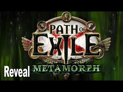 Path of Exile: Metamorph - Reveal Trailer ExileCon 2019 [HD 1080P]