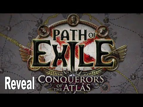 Path of Exile: Conquerors of the Atlas - Reveal Trailer ExileCon 2019 [HD 1080P]