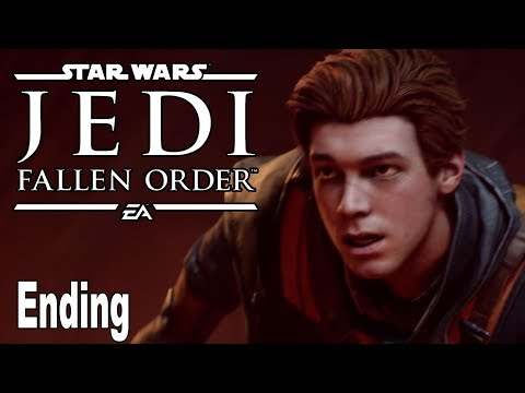 Star Wars Jedi Fallen Order - Ending and Final Boss [HD 1080P]