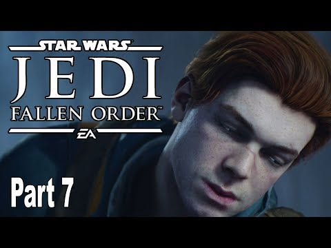 Star Wars Jedi Fallen Order - Gameplay Walkthrough Part 7 No Commentary [HD 1080P]