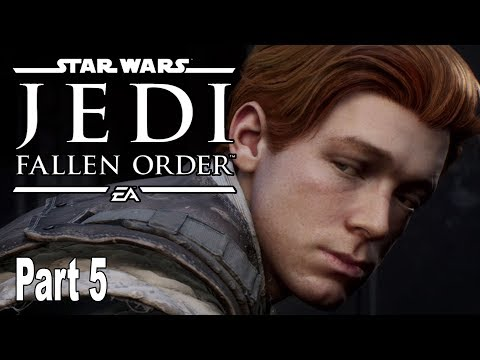 Star Wars Jedi Fallen Order - Gameplay Walkthrough Part 5 No Commentary [HD 1080P]