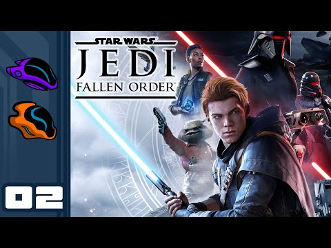 Let's Play Star Wars Jedi: Fallen Order - PC Gameplay Part 2 - Ooga Booga