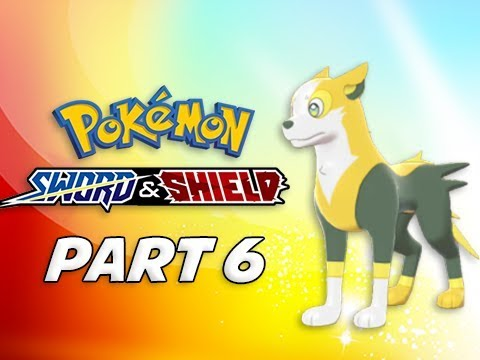 POKEMON SWORD & SHIELD Walkthrough Part 6 - Boltund (Nintendo Switch)